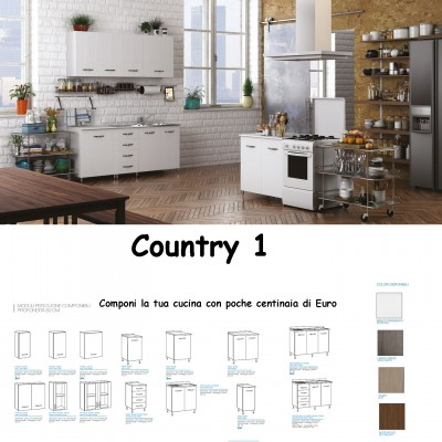 Cucina Country 1