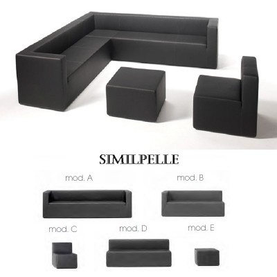 Composizione Cube Similpelle