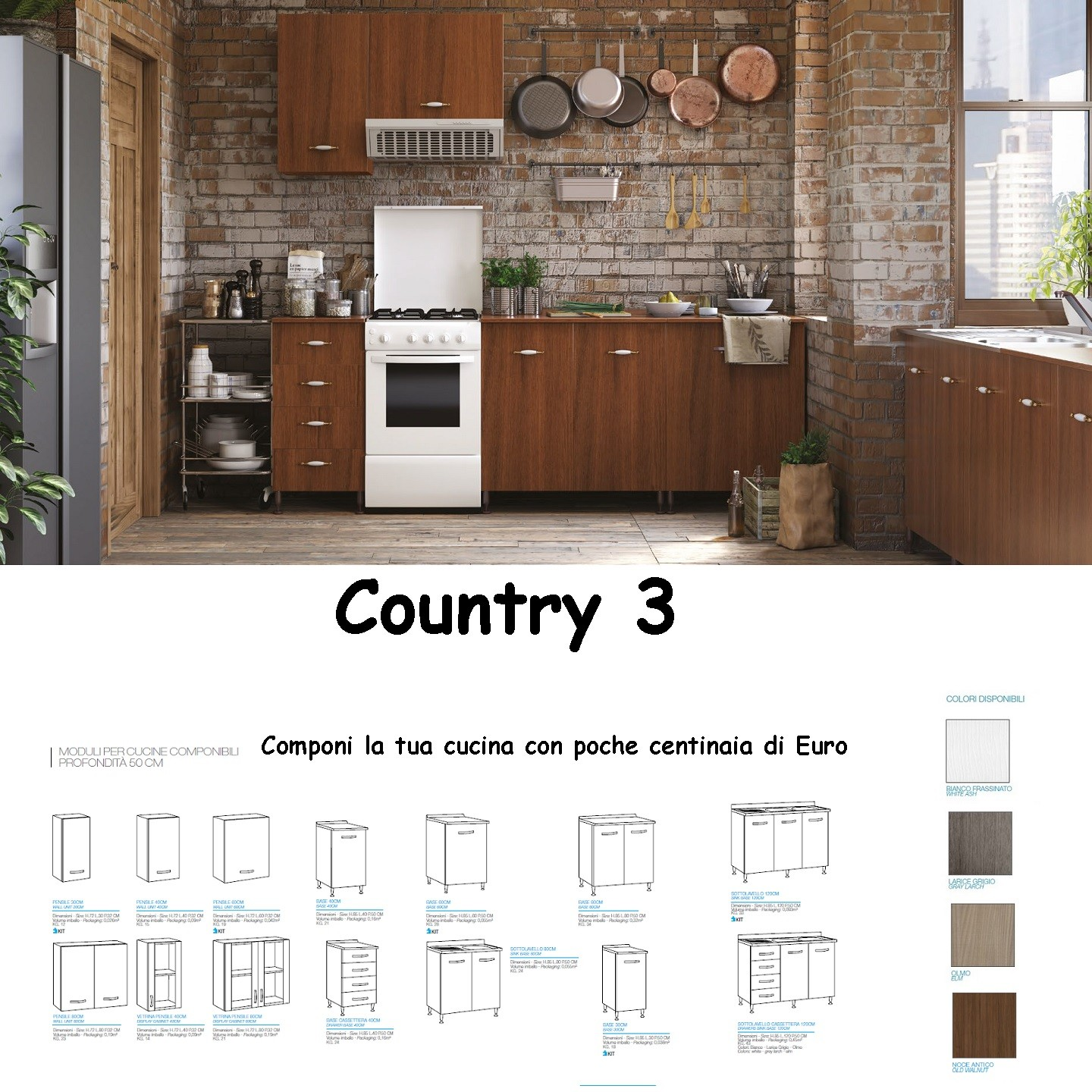 Cucina Country 3