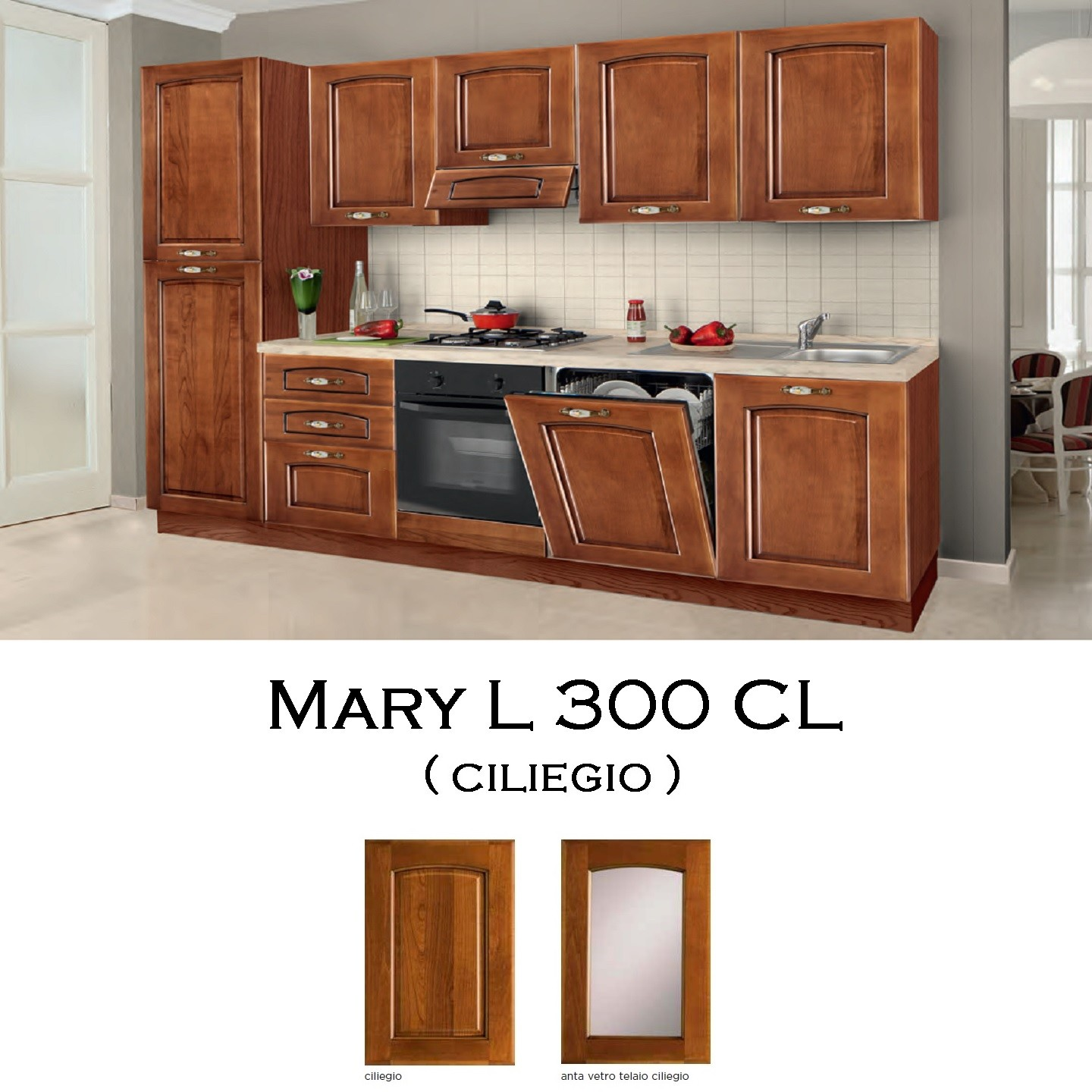 Cucina Mary L 300 CL