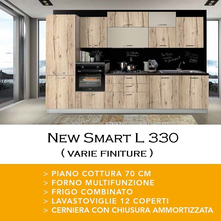Cucina New Smart 330 poker