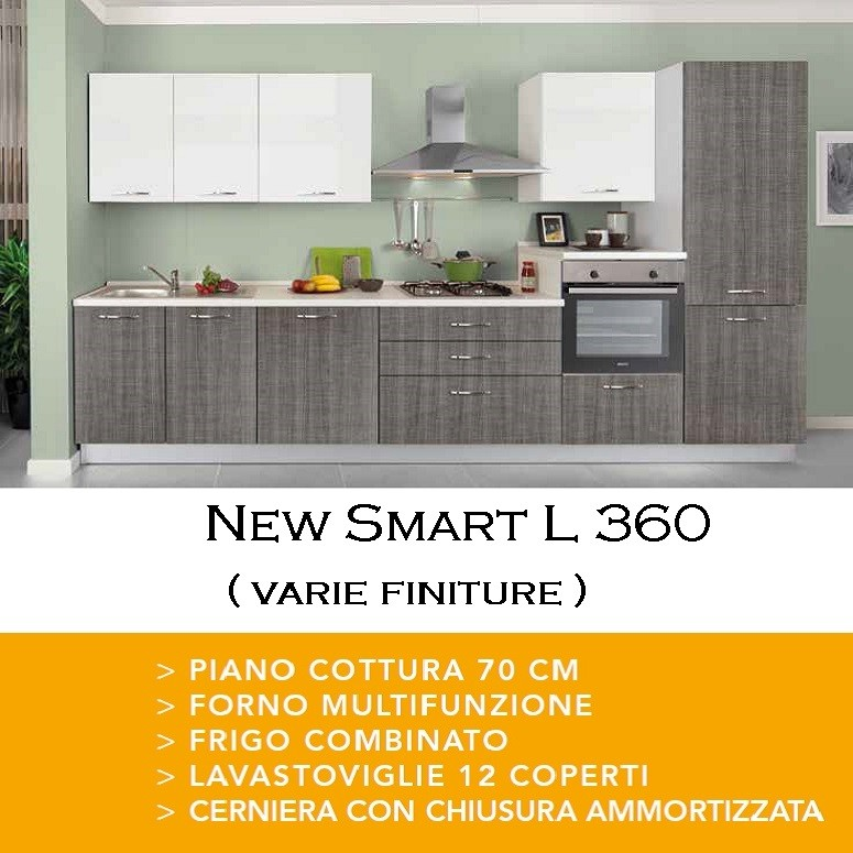 Cucina New Smart 360 poker