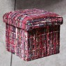 RED MIX - POUF CONTENITORE A