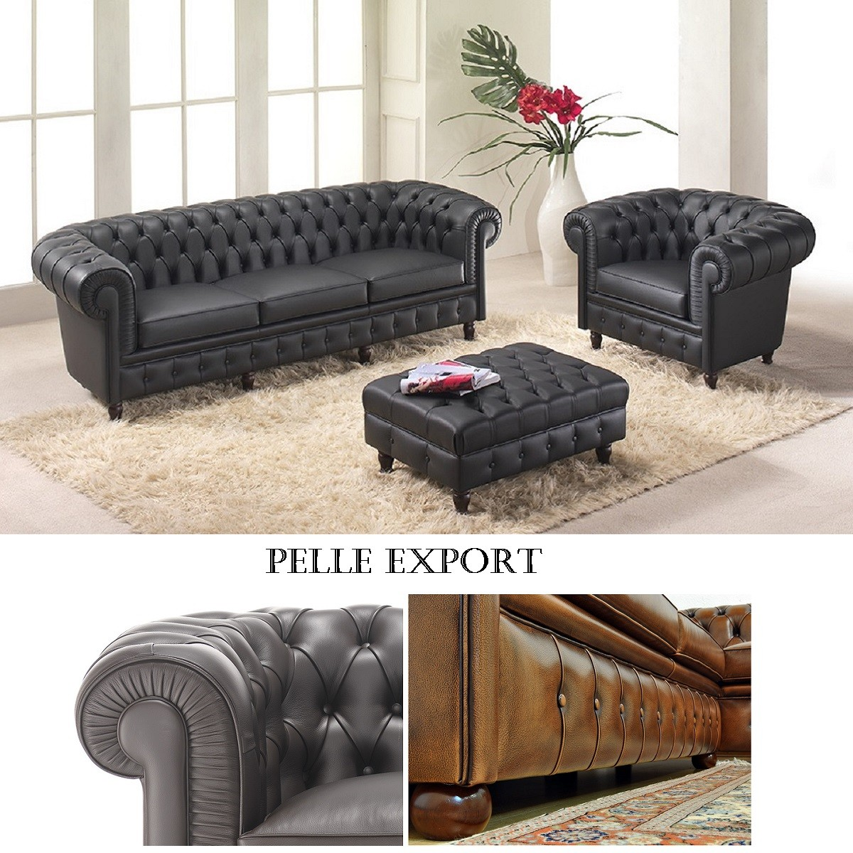 Compo Chester '900 Pelle Export